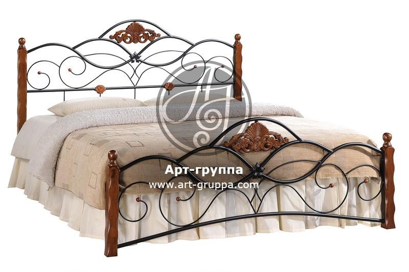 купить Кровать кованая - изделие: 1637