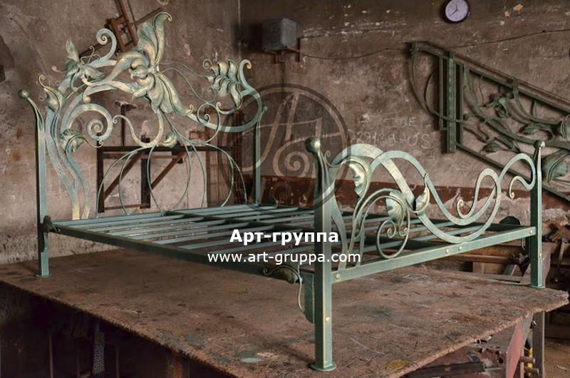 купить Кровать кованая - изделие: 1638