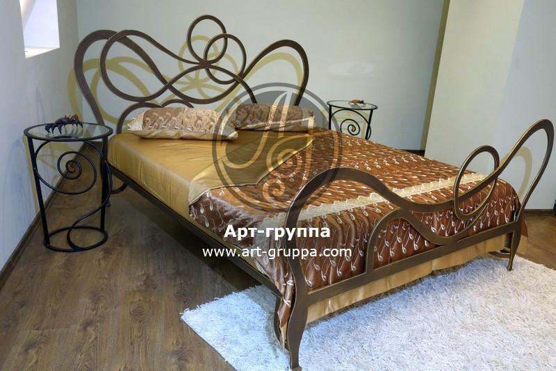 купить Кровать кованая - изделие: 1639