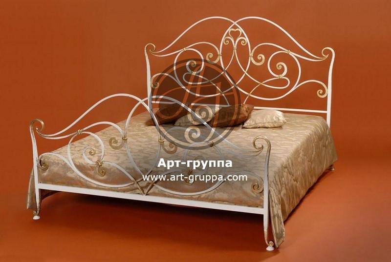 купить Кровать кованая - изделие: 1644
