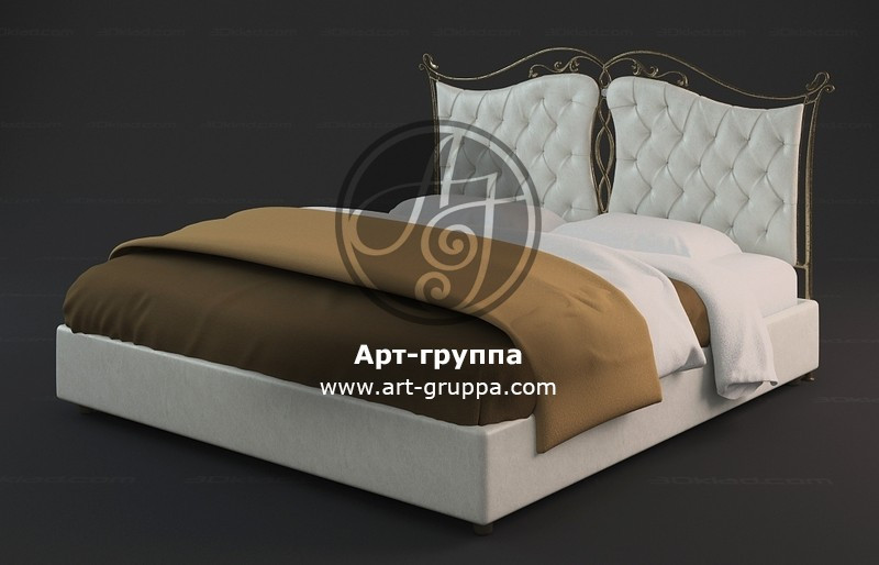 купить Кровать кованая - изделие: 1646