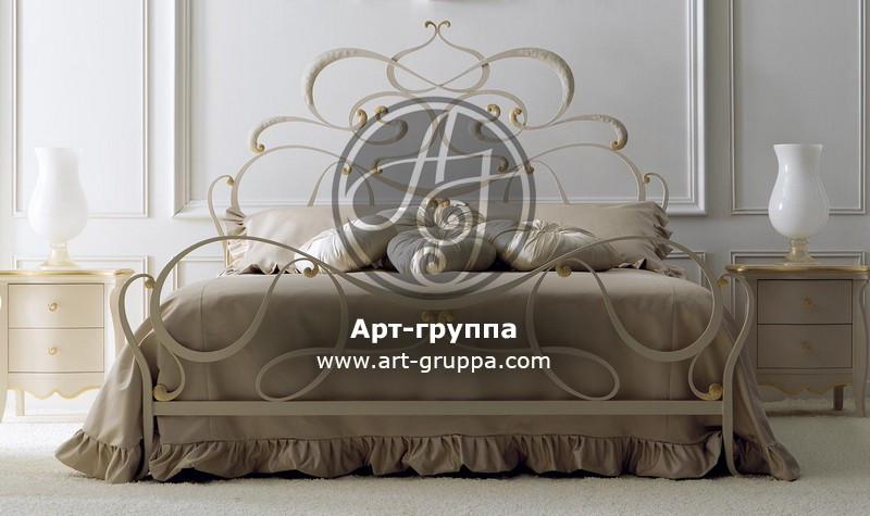 купить Кровать кованая - изделие: 1652