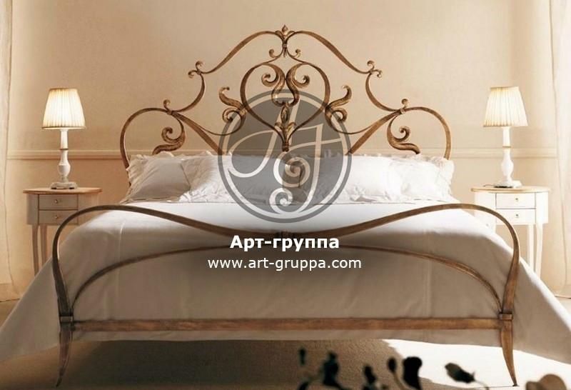купить Кровать кованая - изделие: 1653