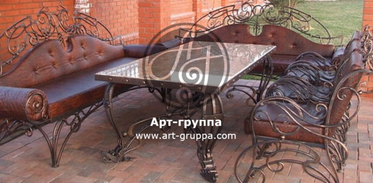 купить Стол кованый - изделие: 1667