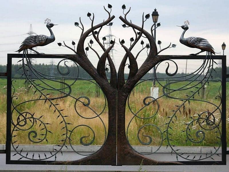 купить Ворота кованые - изделие 5007